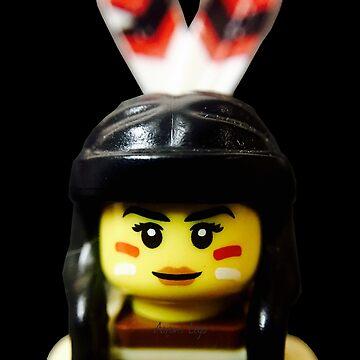 Tribal Woman by aaronslego