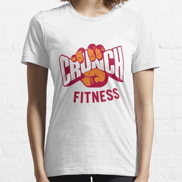 Attractive Crunch Fitness Logo Essential T-Shirt