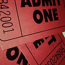 "«Film Ticket ""Admit One"" iPhone Case» de Napy"