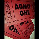 "«Film Ticket ""Admit One"" Pillow» de Napy"