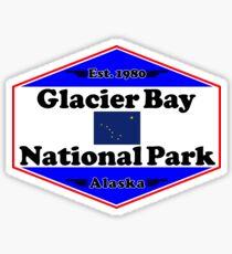 GLACIER BAY NATIONAL PARK ALASKA MOUNTAINS HIKING CAMPING HIKE CAMP 1980 Sticker