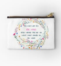 Legally blonde quote Studio Pouch