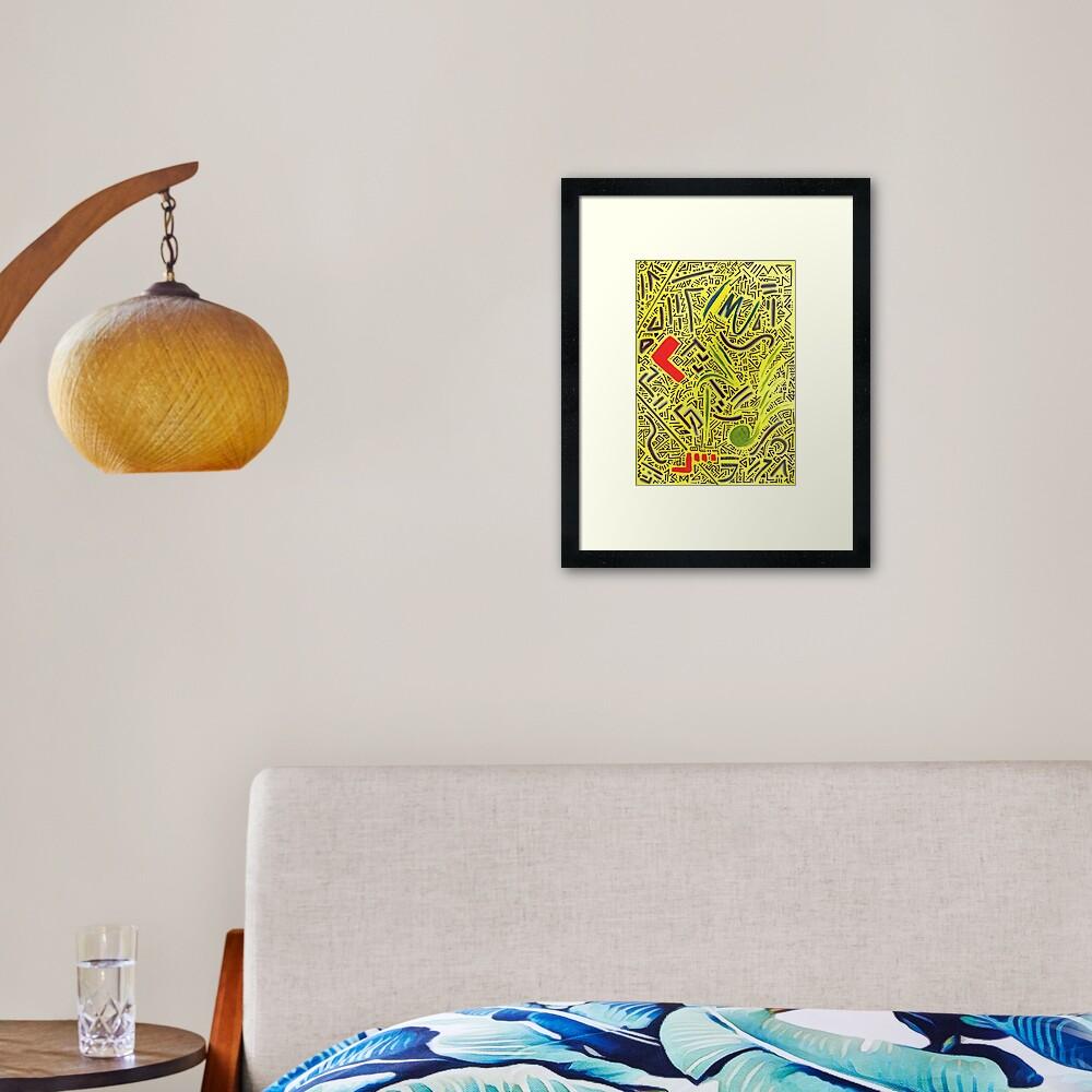 RAYCLEST 6 Framed Art Print