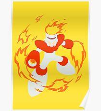 Fire Man Poster