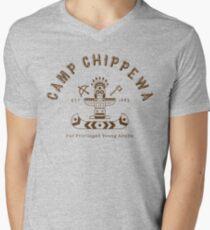 Camiseta de cuello en V Camp Chippewa