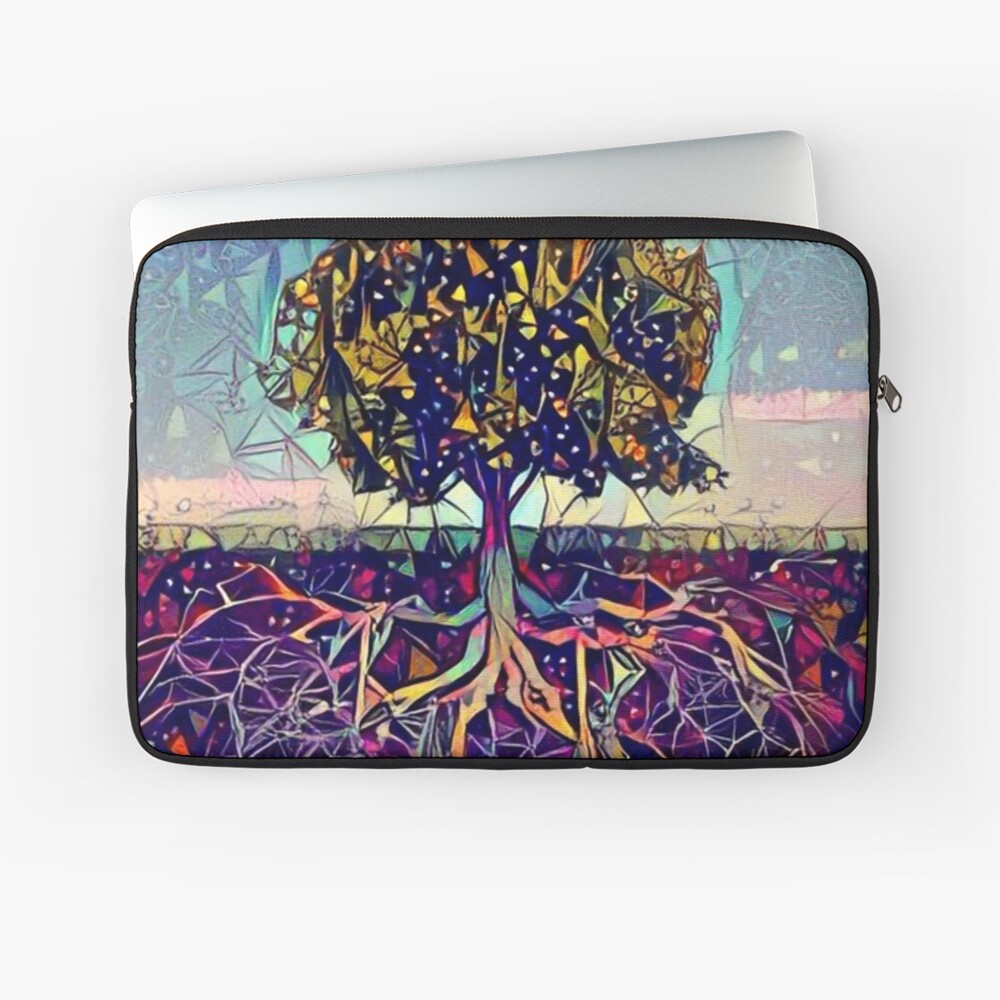 Abstract Tree of Life Laptop Sleeve