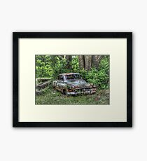 Woodland Cruiser Framed Print
