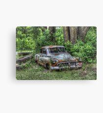 Woodland Cruiser Canvas Print