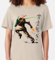 Samus Aran Slim Fit T-Shirt
