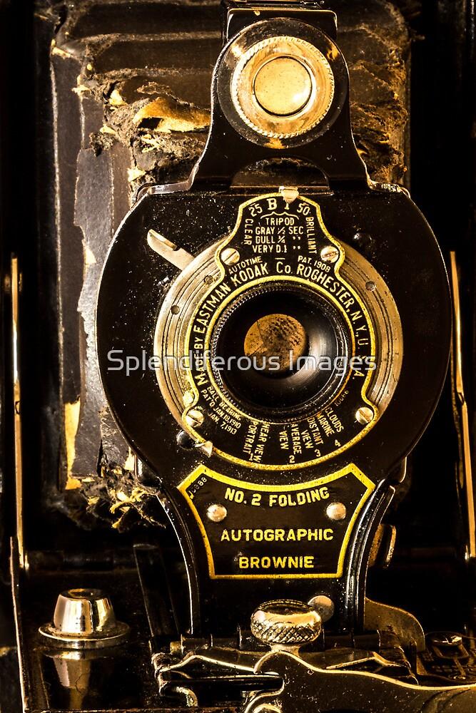 Kodak No. 2 Folding Autographic Brownie by Splendiferous Images