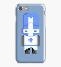 Castle Crashers (Blue Knight) Pixel  iPhone Case/Skin