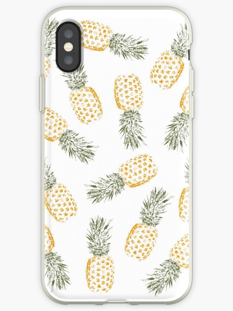 pineapple iphone xs case
