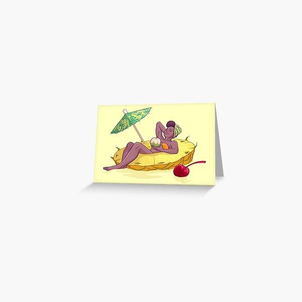 Piña Colada Greeting Card