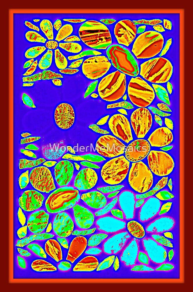 Stained Glass Garden - Mosaic Art by WonderMeMosaics