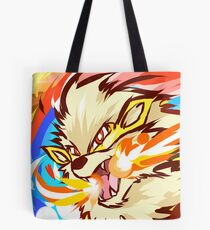 Shiny Arcanine | Fire Fang Tote Bag