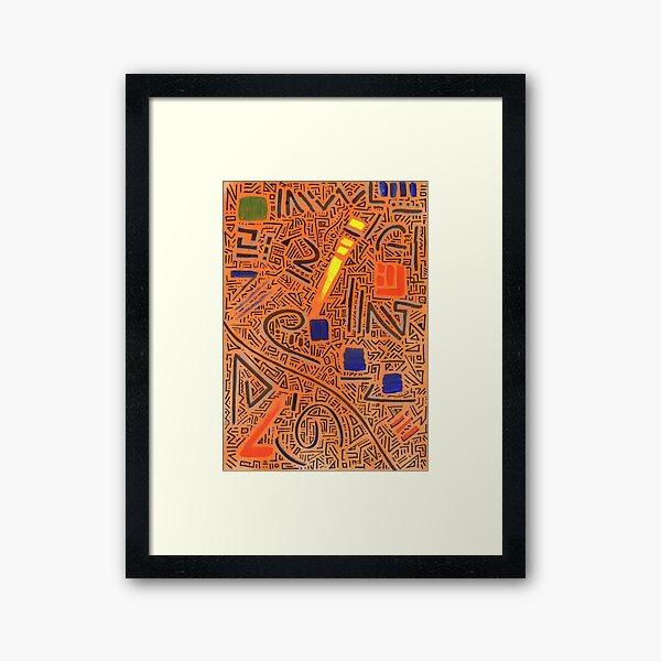 RAYCLEST 7 Framed Art Print