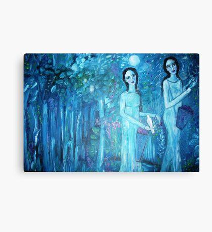 """Night Harvest"" Canvas Print"