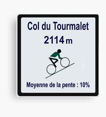 Col Du Tourmalet Canvas Print