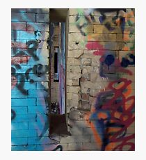 Graffiti: Exploring Inner Space Photographic Print