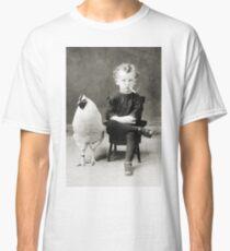 Smoking Child - black/white Classic T-Shirt