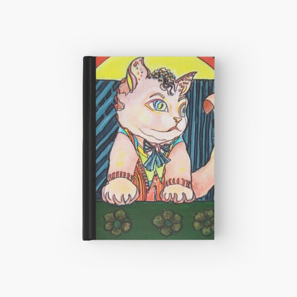Cute Cat Hardcover Journal