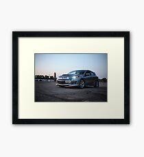 Mazdaspeed 3 Framed Print