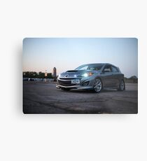 Mazdaspeed 3 Metal Print