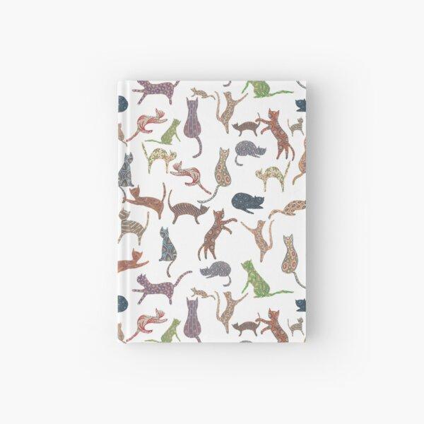 Juego de gatos Cuaderno de tapa dura