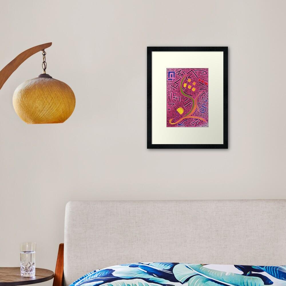 RAYCLEST 8 Framed Art Print