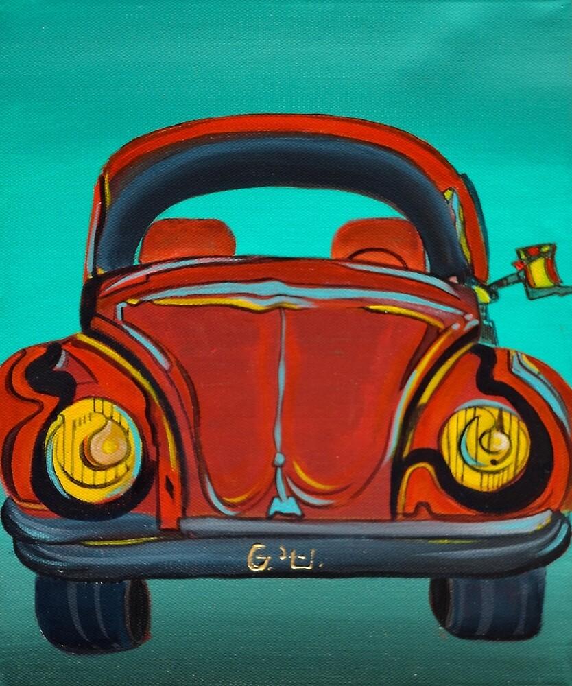 Volkswagen Beetle by Giselle Luske