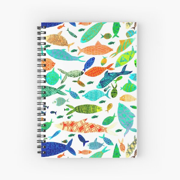 Lots of goldfish Spiral Notebook