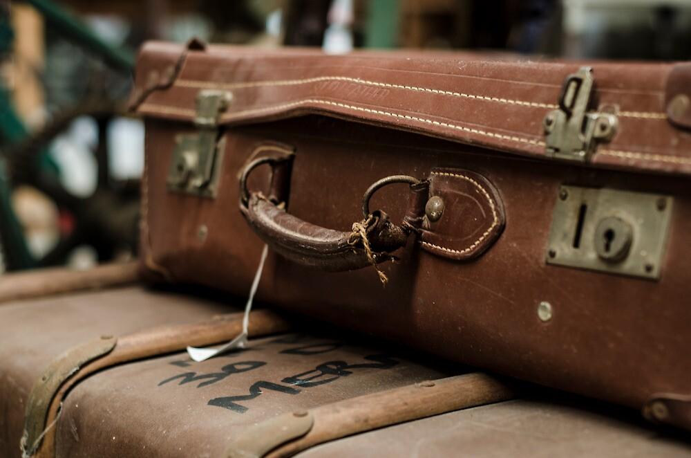 Vintage luggage by stacykenyon