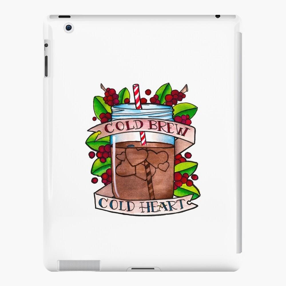 Kaltes Gebräu, kaltes Herz iPad-Hüllen & Klebefolien
