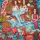 """""""Mermaids Treasure House""""   by catherine walker"""