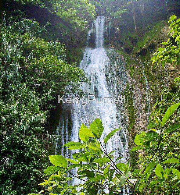 Cascades Waterfall - Vanuatu by KerryPurnell