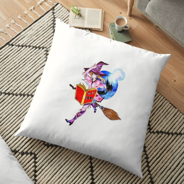 Young Witches Floor Pillow