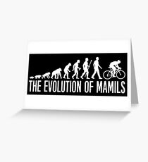 Cycling MAMIL Evolution Greeting Card