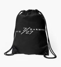 7/27 LOGO (B&W) Drawstring Bag