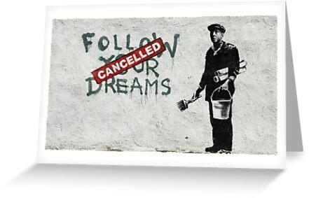 Banksy dreams by Tezwah