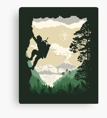 Breath of Adventure Canvas Print