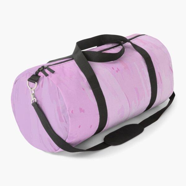 Pink Smear Duffle Bag