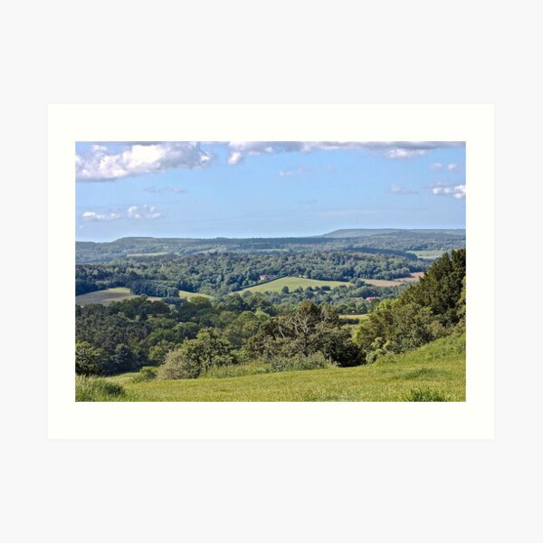 Englands Green and Pleasant Land Art Print