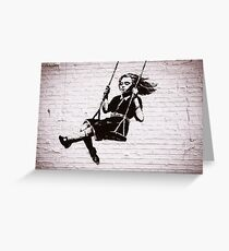 Swing Greeting Card