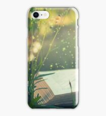 Some day you will be old enough to start reading fairy tales again ~ CS Lewis (text) iPhone Case/Skin