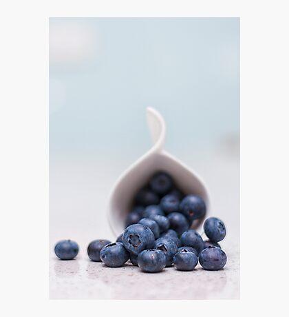 still life ~ blueberries Photographic Print