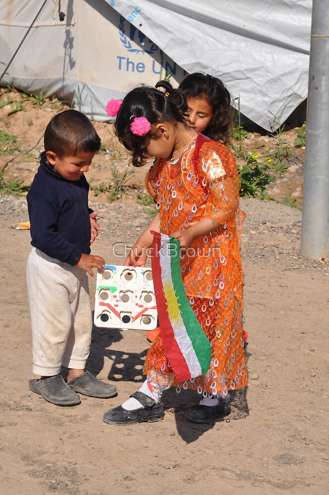 Children - Newroz-Qustapa_Syrian Refugee Camp_Arbil-KRG- 21-3-2104 by ChuckBrown