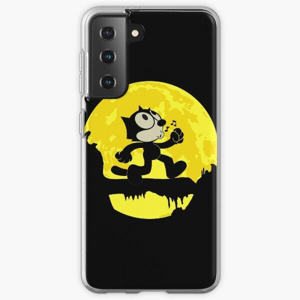 Felix The Cat Keep Walking on the moon Samsung Galaxy Soft Case