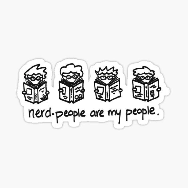 Nerd People Sticker