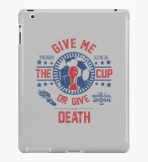 BRASIL WORLD CUP 2014 TEAM USA iPad Case/Skin