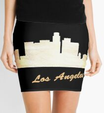 Los Angeles Skyline Mini Skirt